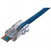 Ideal Cat 6 Feed-Thru RJ-45 Plug (85-377)