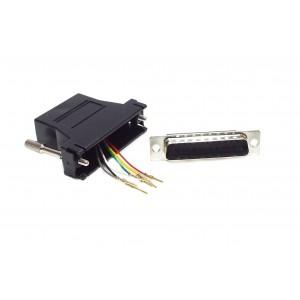 RJ11 - D25M Passive Adaptor
