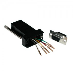 RJ11 - D9F Passive Adaptor