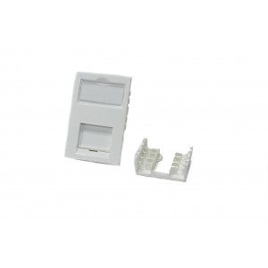 Cat 6 White LJ6C Module Excel (100-301)