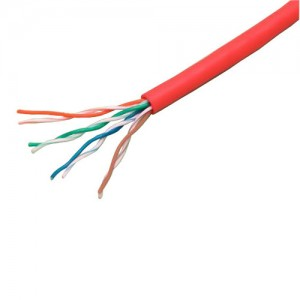 Cat 5e UTP Red Patch Cable
