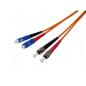 ST-SC Duplex Patch Cord 62.5/125 OM1