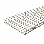Byrco Wire Basket Tray Height 60mm Rejiband 3m