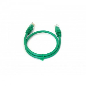 Patch Lead Green Booted Crossover RJ45 Cat 6/Cat6